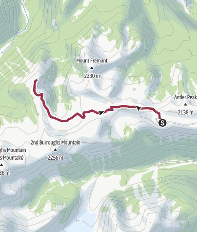 Map / Mount Rainier National Park: Skyscraper Mountain