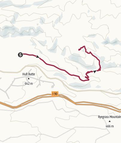 Map / Seattle: Whiskey Dick Mountain