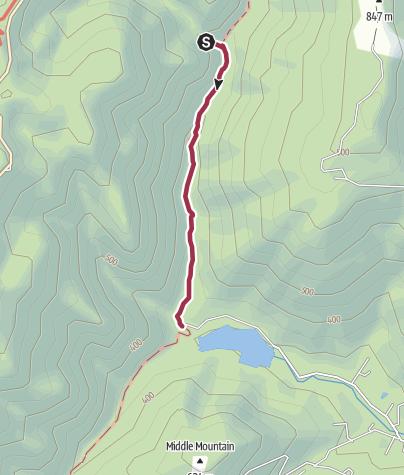 Map / Shenandoah National Park: Moormans River