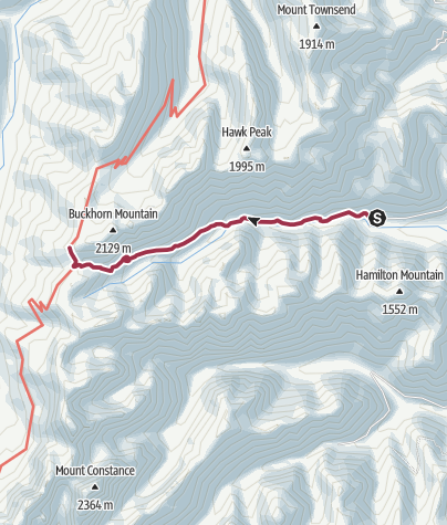 Map / Seattle: Big Quilcene Trail
