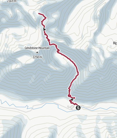 Map / Seattle, WA: Lake Edna via Chatter Creek