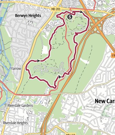 Map / Washington, DC: Perimeter Trail