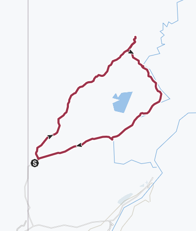 Map / Yellowstone National Park: Bechler River Loop