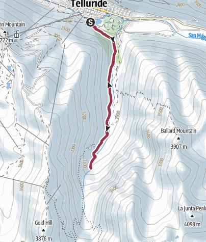 Map / Telluride, CO: Bear Creek