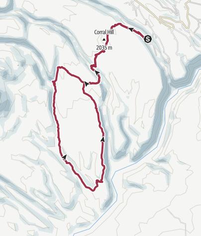 Map / Santa Fe, NM: Alamo to Capulin Canyon Loop