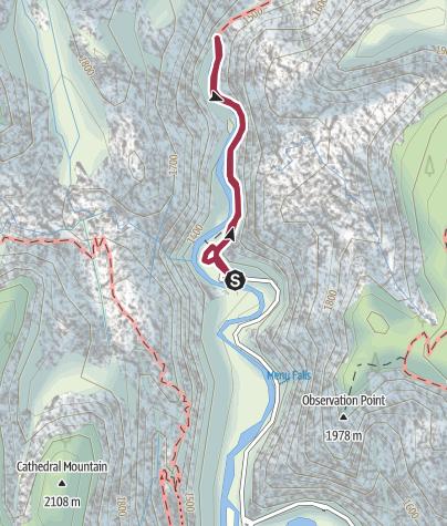 Map / Zion National Park: Riverside Walk