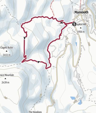Map / Yellowstone National Park: Narrow Gauge