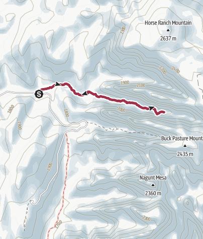 Map / Zion National Park: Double Arch Alcove