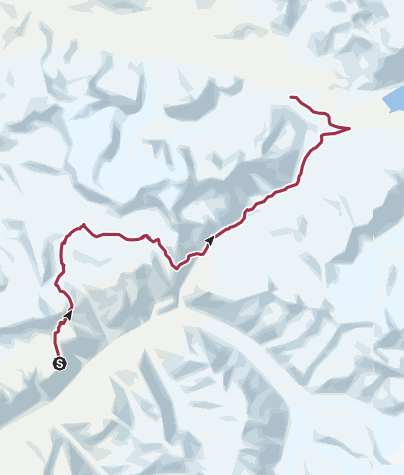 Map / Wrangell-St. Elias National Park and Preserve: The Goat Trail