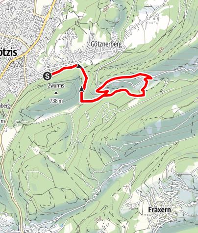 Karte / Via Örfla - Klettersteig