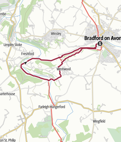 Map / 2 Valleys river route