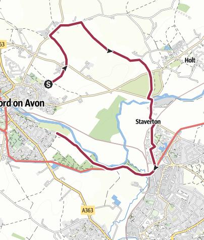 Map / BoA Walking Wheel - Spokes 2 and 3
