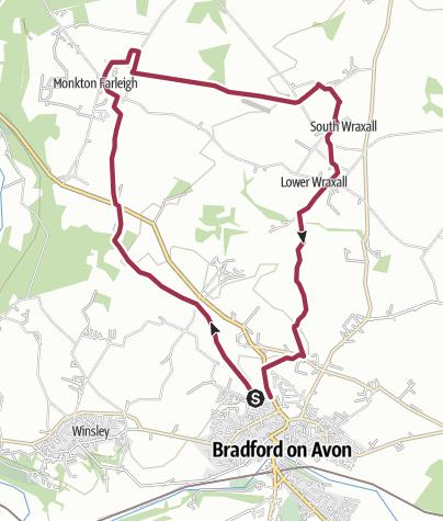 Map / BoA Walking Wheel - Spokes 8 & 1