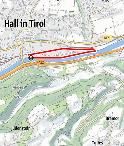 Karte / Guggerinselrunde