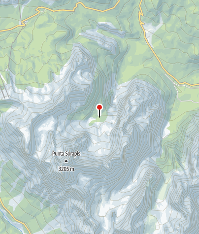 Karte / Rifugio Vandelli