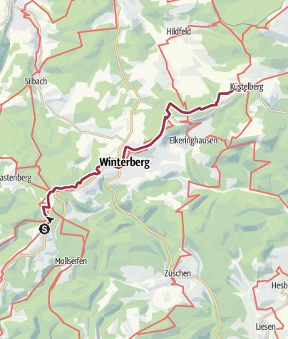 Karte / Zwei Quellen & Westfalens Dach