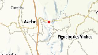 Mapa / Menu Degustação no Restaurante Varanda do Casal