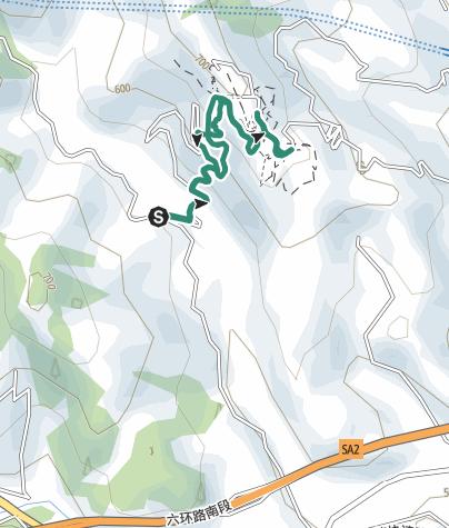 地图 / 龙泉山城市森林公园-丹景台徒步路线