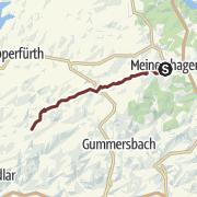 Karte / Jakobsweg Rheinland: Meinerzhagen-Frielingsdorf
