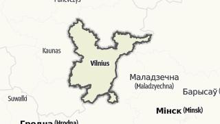 Hartă / Vilniaus