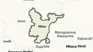 Mapa / Vilniaus