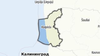 Mapa / Klaipėdos