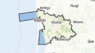 Karte / Klaipėdos