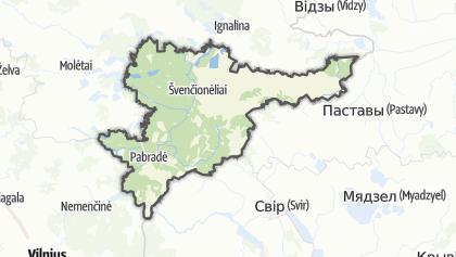 Mapa / Švenčionių
