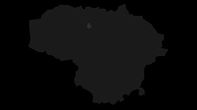 Térkép / Šiaulių