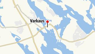 Карта / Городской музей Варкауса и Художественный музей на маршруте Старый Варкаус