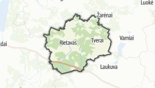 מפה / Rietavo