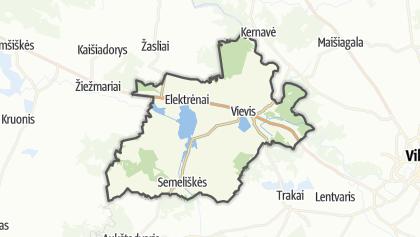 Térkép / Elektrėnų