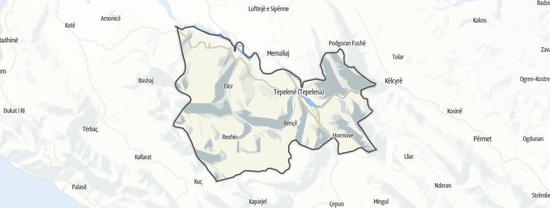 מפה / Tepelene
