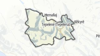 Карта / Tepelene