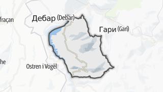Mappa / Centar Zhupa