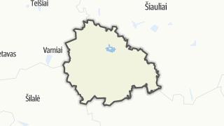 Térkép / Kelmės