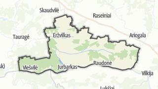 Térkép / Jurbarko