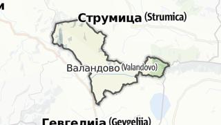 Mappa / Valandovo