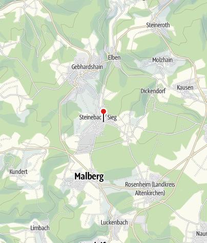 Karte / Besucherbergwerk Grube Bindweide