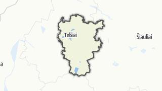 מפה / Telšių