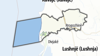 Hartă / Rrogozhine