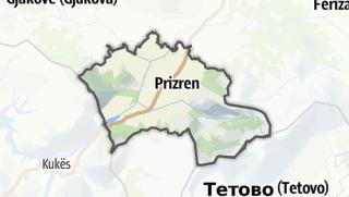 Mappa / Prizreni