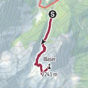 Karte / Blaser (2241 m) von Maria Waldrast