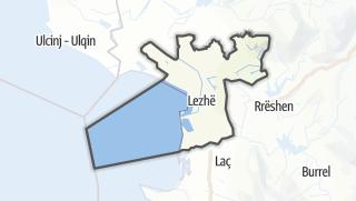 Mapa / Lezhe