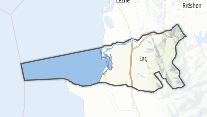 Mapa / Kurbin