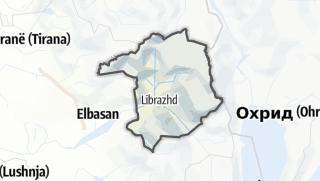 Mapa / Librazhd