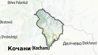Mappa / Makedonska Kamenica