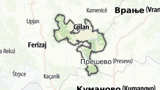Map / Gjilan