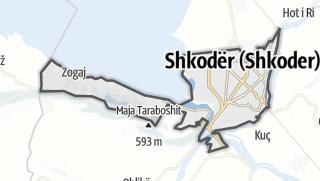 Mappa / Shkoder