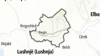 Mapa / Peqin